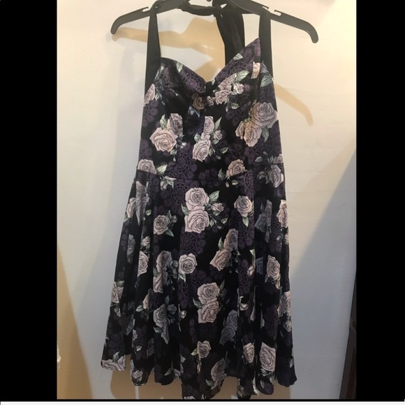 cb7e16d97ce Hell bunny Halter top dress. NWT. Hot Topic